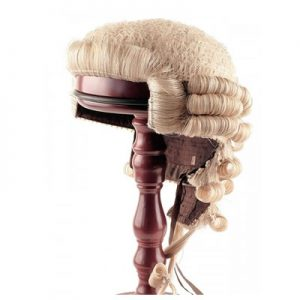 wig and gown, lawyer wig and gown for sale