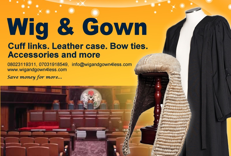 Law Books and Wig and gown